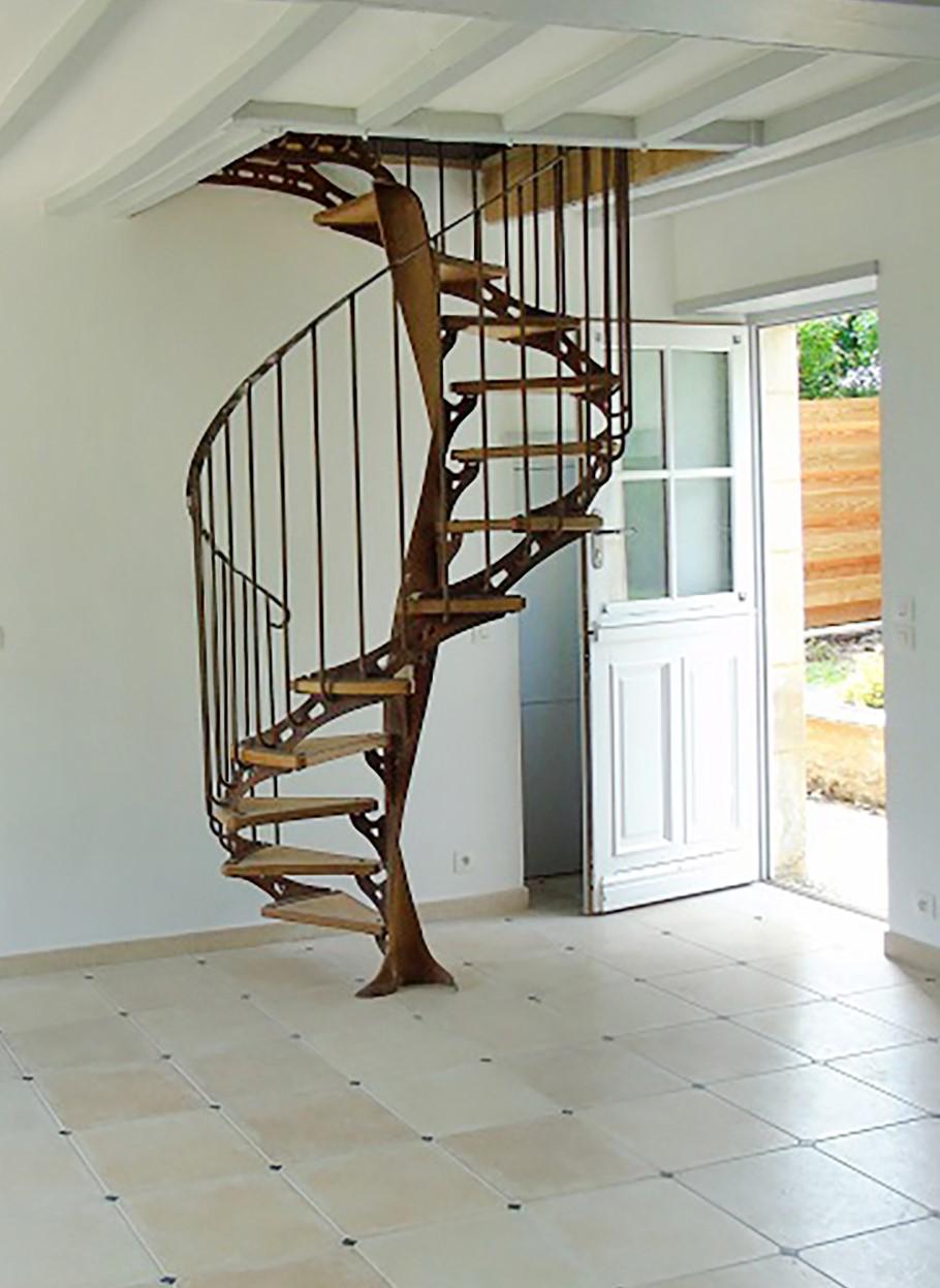 Escalier En Colimacon Mael Lefrancois Designer