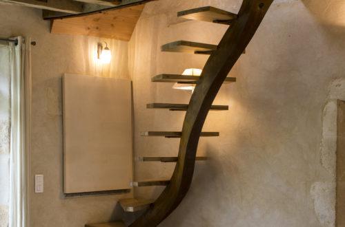 Escalier organique